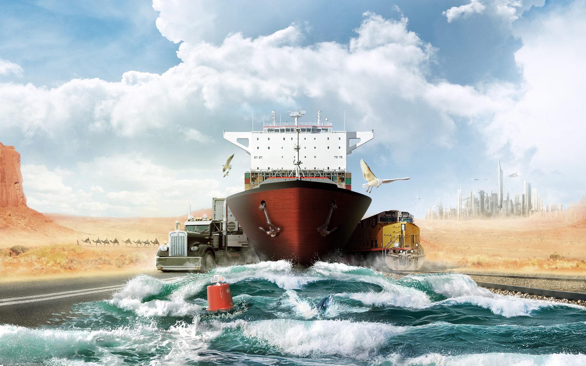 Логистика в перевозке грузов