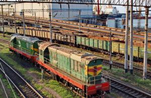 Железнодорожный грузовой транспорт в перевозке крупных партий грузов
